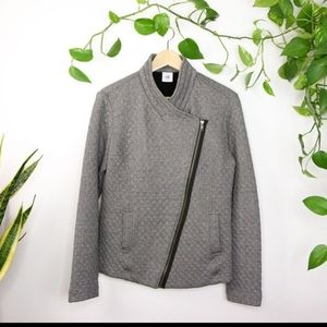 CAbi 3025 Grey Quilted Jacket